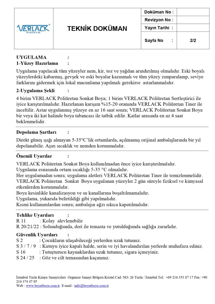 TDS-VERLACK Poliüretan Sonkat Boya_page-0002